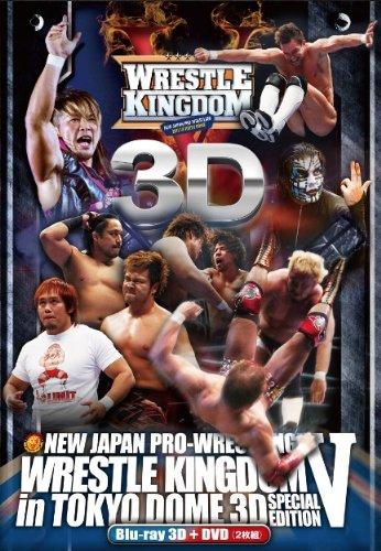 レッスルキングダムⅤ IN 東京ドーム 2011.1.4 TOKYO DOME (ブルーレイ1枚&DVD2枚)