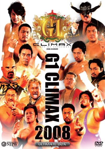 G1 CLIMAX 2008 ULTIMATE BOX